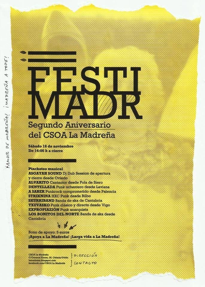 Fiesta Aniversario CSO LA MADREÑA