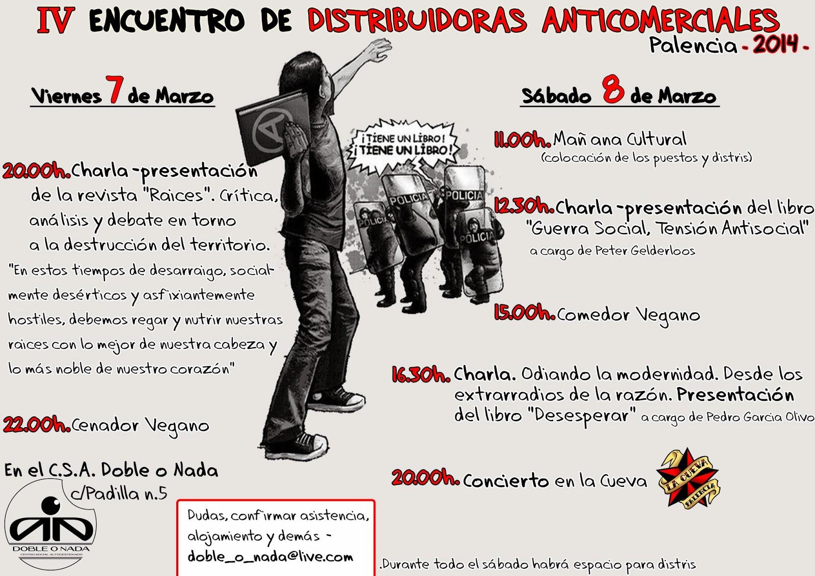 IV encuentro de distribuidoras anticomerciales de Palencia