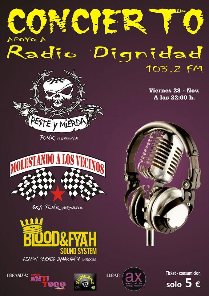 Concierto por Radio Dignidad, Cordoba
