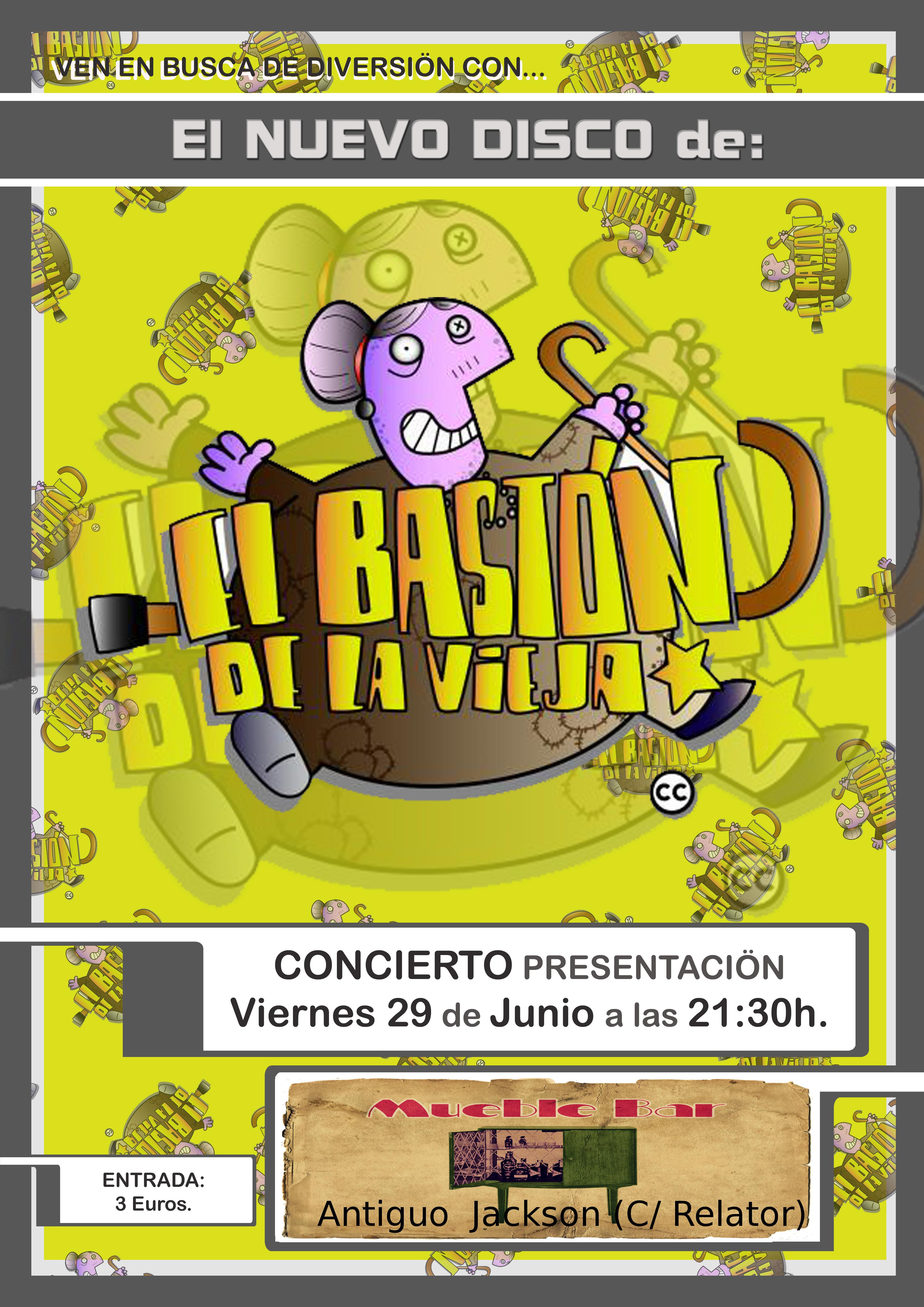 Presentacion del disco de El Baston de la Vieja