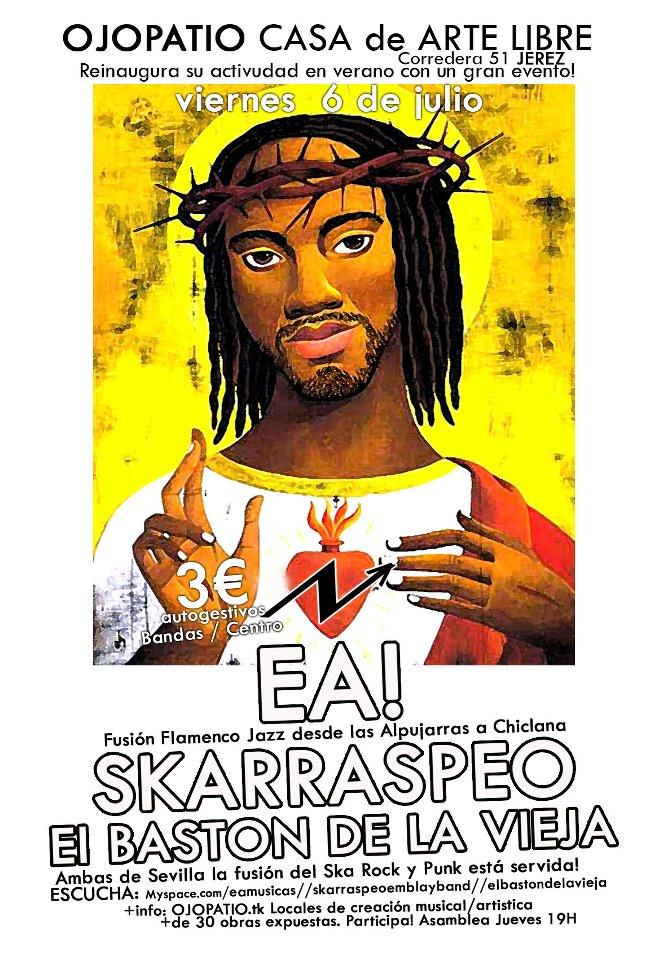 El Baston de la Vieja+Skarraspeo Emblay Band+EA!