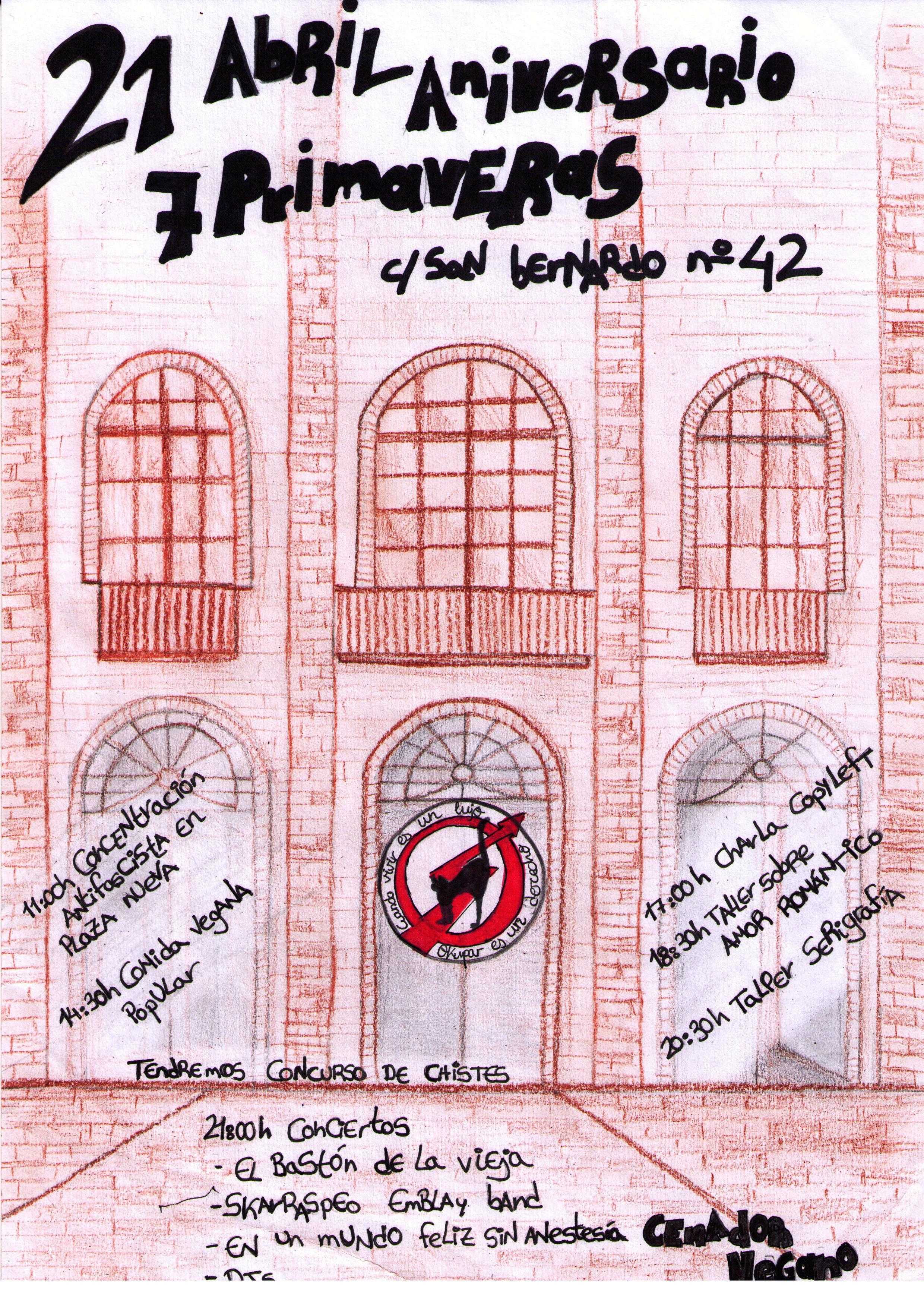 Jornadas por la autogestion del CSOA Sin Nombre