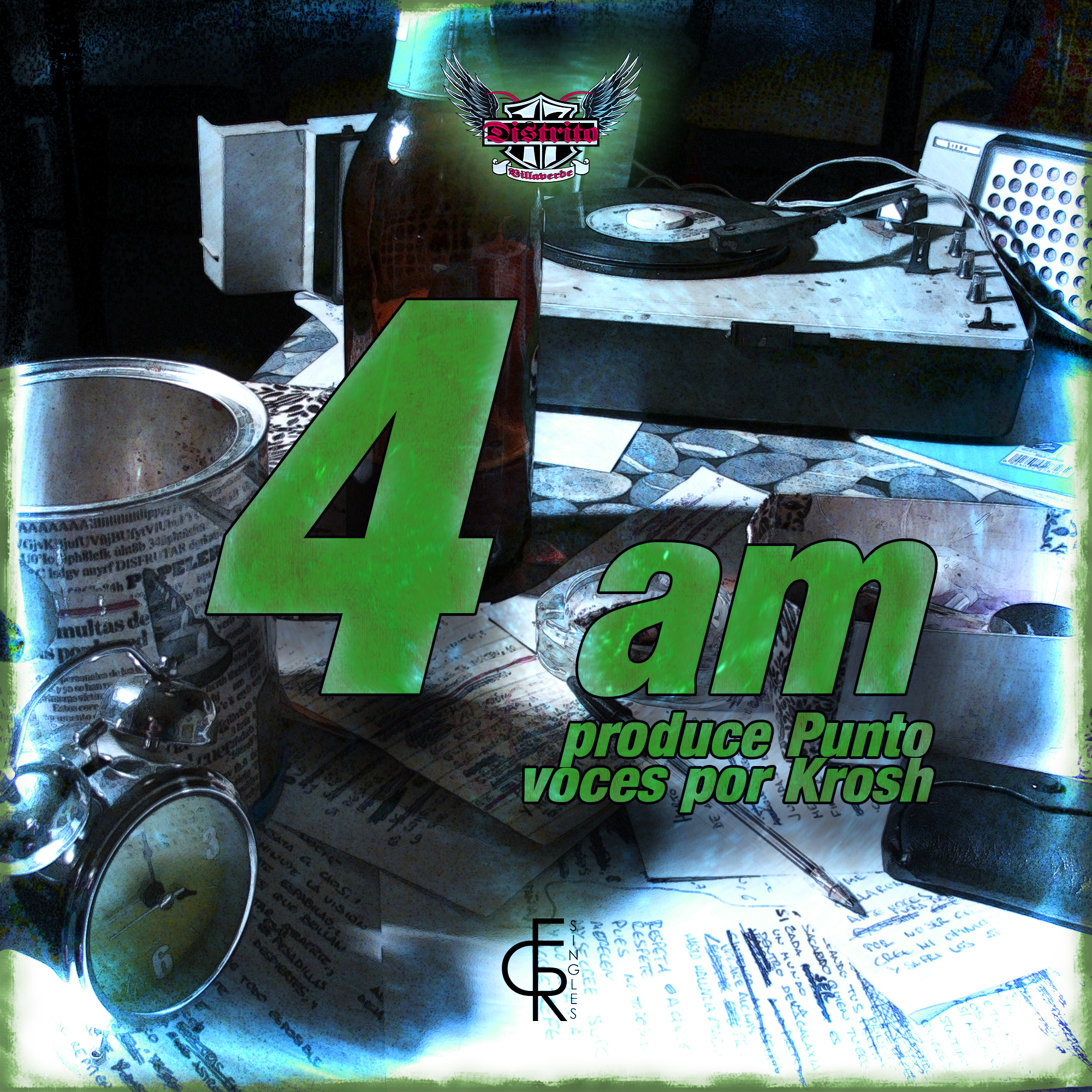 4 am - ECR Singles #006