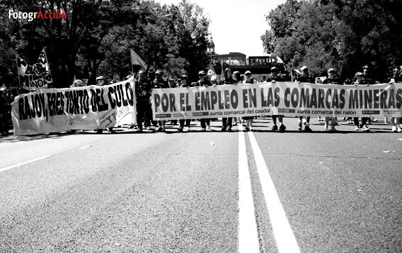 Solidaridad con l@s miner@s en lucha