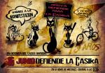Manifestación en apoyo al CSO La Casika